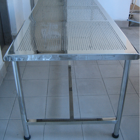 Physic Laboratory Furniture Stainless Steel Working Table