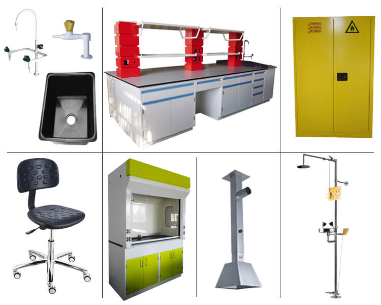Lab furniture models