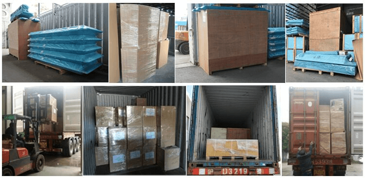 Laboratory furniture packing-2