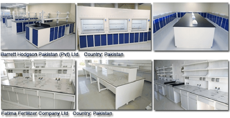 Laboratory furniture showcase-1