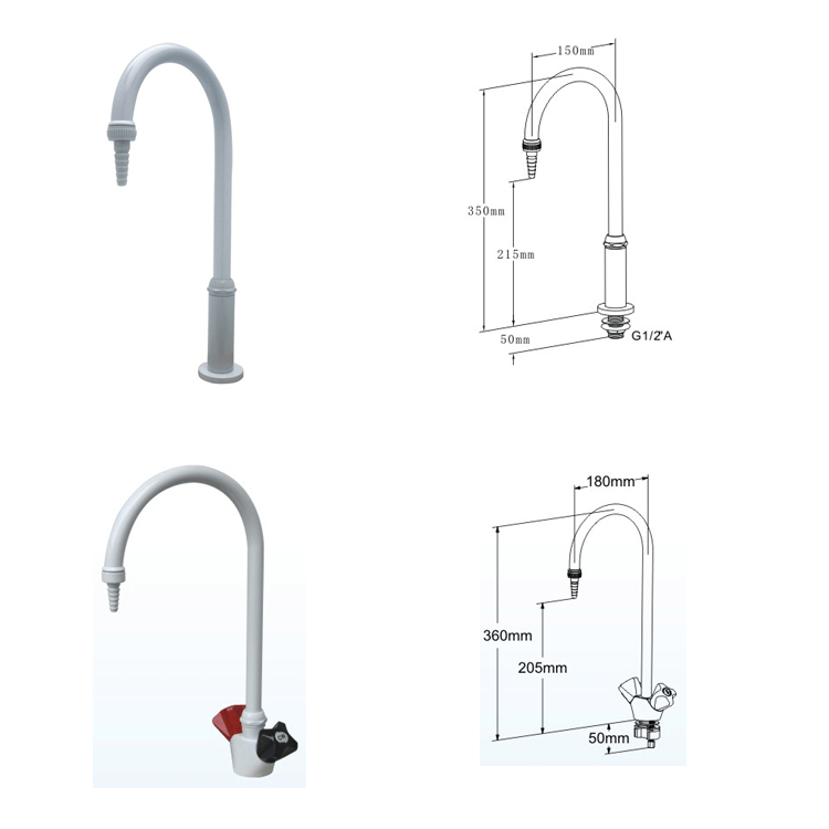 Lab fittings water faucet