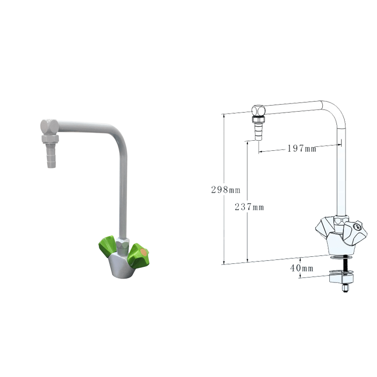 lab furniture Cold & Hot faucet
