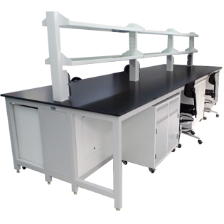 Chemical H-Frame Structure Steel bench