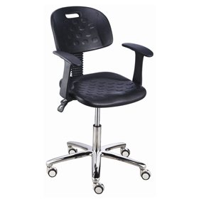 Laboratory Acid-resistance Adjustable Lab Chairs Metal Lab Stools With Wheels