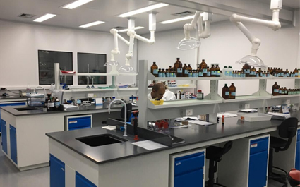 How to design internal ventilation facilities in physical and chemical laboratories?